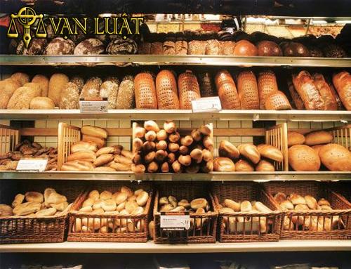 giấy chứng nhận vệ sinh an toàn thực phẩm cơ sở sản xuất bánh mỳ