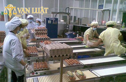 Giấy chứng nhận vệ sinh An Toàn Thực Phẩm về đóng gói trứng