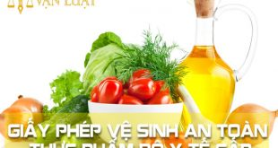 Giấy chứng nhận Vệ sinh an toàn thực phẩm Bộ Y tế cấp ở Hà Nội