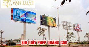 Dịch vụ Xin giấy phép quảng cáo Uy Tín Tại Hà Nội