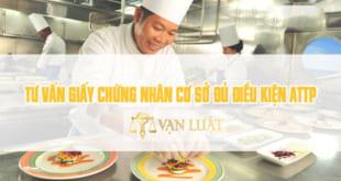 Đăng ký vệ sinh an toàn thực phẩm cho nhà hàng, ăn uống