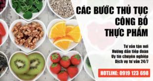 Công bố sản phẩm là gì? Thủ tục công bố thực phẩm tại Việt Nam